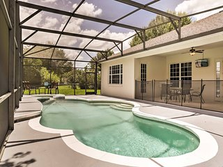 Elegant 4BR Kissimmee House w/Wifi, Game Room, Private Pool + Patio Area