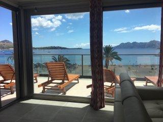 Anclabeach penthouse en primera linea de playa