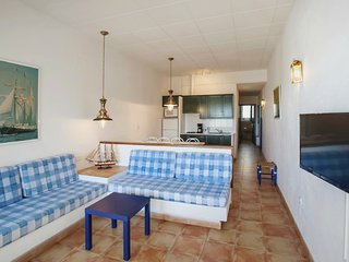 Three-Bedroom Apartment with Side Sea View located 50m from the beach.