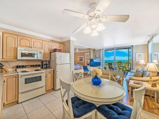 Enjoy sunsets from the comfort of your couch or walk 5 minutes to Bonita Beach!