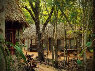MELI-MELO P&B, ECO-FRIENDLY JUNGLE HOUSE MINUTES FROM TULUM BEACH