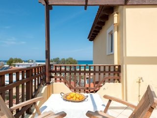 Seafront at Stavros Beach lovely Maisonette
