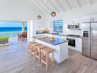 Fully equipped kitchen with an incredible view