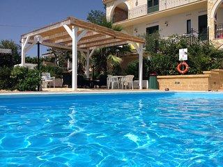 Appartamento Azzurro Posti 7 Villa Ceni Triscina di Selinunte sul mare.
