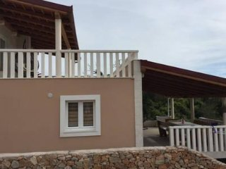 Luxury villa near Trogir, first row by the sea. NEW!