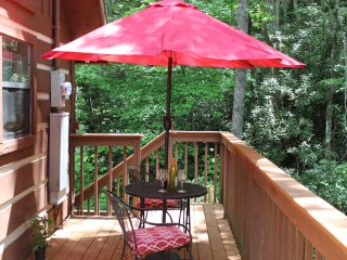 NEW! SECLUDED Chalet Style Cabin with Soaring Ceilings, Jacuzzi