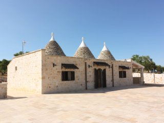 Wonderful Trulli in the countryside
