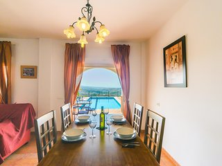 Magnificent views from the dining room at El Botin!