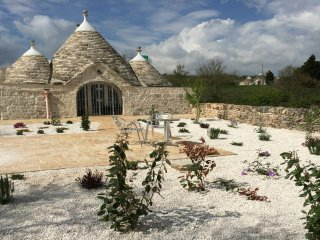 Unique spacious light and airy restored trullo in the heart of the Valle d'Itria