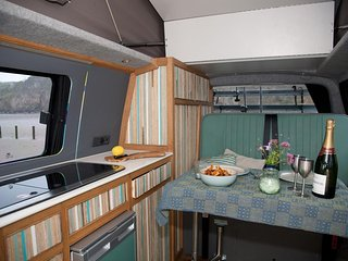 Rex, handmade campervan hire from Quirky Campers