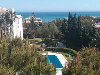 The view from the apartment at Riviera del Mar