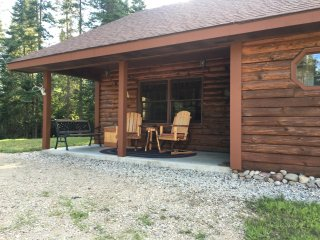 North Woods Log Cabin Retreat
