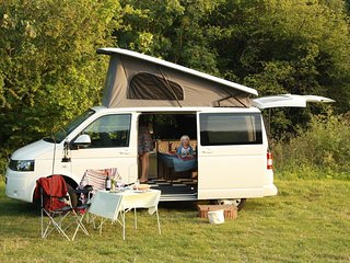 Alba, luxury campervan hire from Quirky Campers
