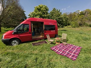 Amelia, handmade campervan hire from Quirky Campers