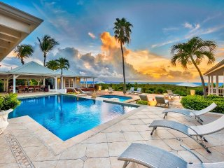 CLAIR DE LUNE... Spectacular views from this 4 BR West Indian syle villa