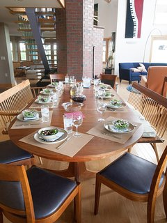Set Table with seating for 12