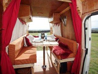 Esmeralda, handmade campervan rental from Quirky Campers