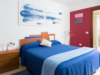 Habitación matrimonial con baño privado en Tenerife
