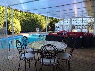 chambres d'hôtes avec piscine chauffée calme et plage bassin d'arcachon