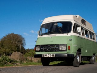 Manny, handmade campervan luxury from Quirky Campers