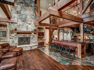 Large home with incredible finishes and indoor climbing wall (6 BR)!