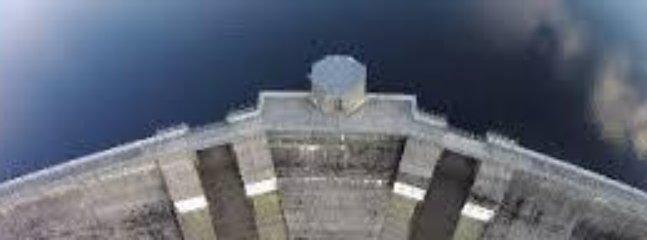 Spelga Dam view