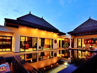 The Lanterns Pool Villa, Fully Serviced, Surin Beach, Phuket
