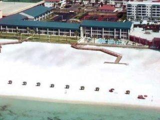 Destin Holiday Beach Resort Tennis view1 bedroom