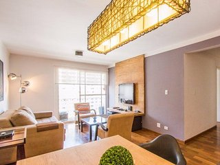 Modern Two Bedroom Apartment in the Heart of Itaim Bibi.