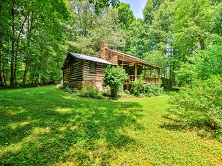 NEW! Private 2BR Dobson Cabin on 6 Acres of Land!