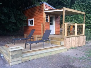 Rustic tiny house just completed