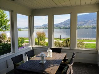 New listing with summer dates.  True beachfront at Osoyoos Cottages, kayaks too!