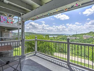 NEW! Lake View 2BR Branson Condo w/ Huge Patio!