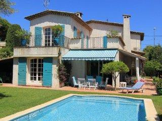 Belle Villa 220 m2 Piscine Privee Centre Juan Les Pins 5 min Plage
