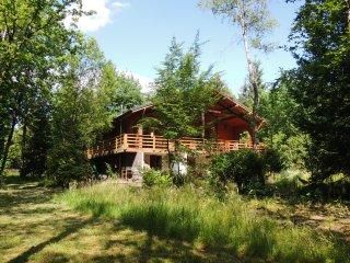 Magnifique chalet au milieu des bois en Ardenne