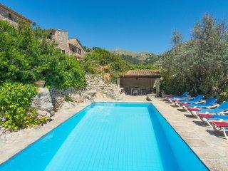 Villa Huguet. Mountain side location. Stunning views. Free car included!