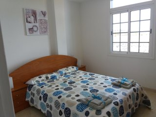 Lovely two bedroom fully equipped apartment 5 minutes from beach.