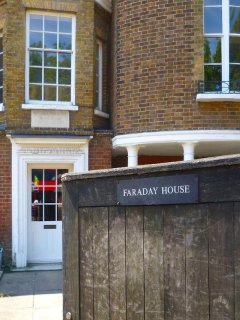 Home of Michael Faraday - approx 0.1 mile