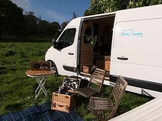 MacIntyre, handmade campervan luxury from Quirky Campers