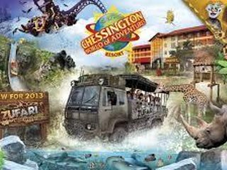 Chessington World of Adventures - approx 5.5 miles