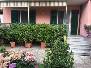 Apartment with garden in Sestri Levante