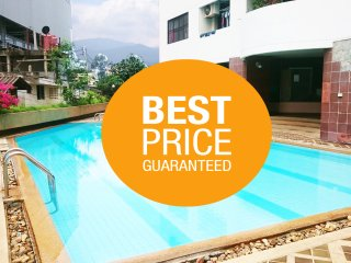 3 beds Central in Chiang Mai City (free pool) coffee shop onsite.
