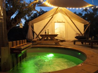 Luxury Tent in the olive grove