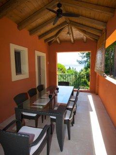 exterior dining veranda