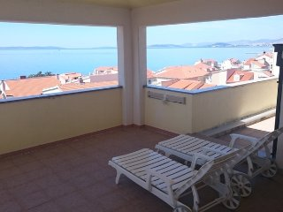 Pezo-Two Bedroom Apartment with balcony and sea view-A6-6ps