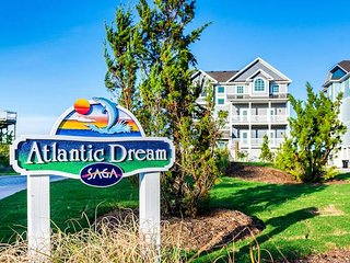 Atlantic Dream- 8 Bedroom Oceanfront Vacation Home w/1 Day of Free H2OBX TIckets