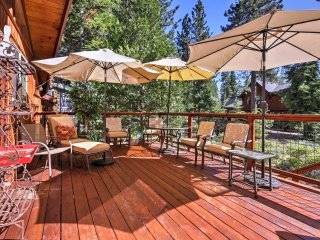 5BR Tahoe City Home w/ Fireplace & Scenic Views!