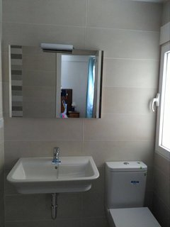 Newly remodelled bathrooms