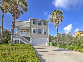 Paradise awaits you at  'Hibiscus House,' a 5-bedroom, 4-bathroom South Padre Island vacation rental house.