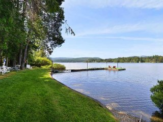 Amazing 5 Bedroom Lakefront House with Private Dock on Shawnigan Lake BC